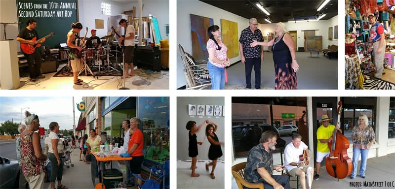 10th Annual monthly art hop in Truth or Consequences