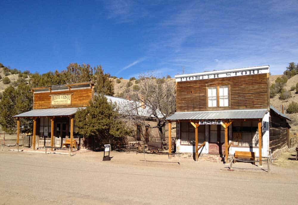 downtown Chloride New Mexico