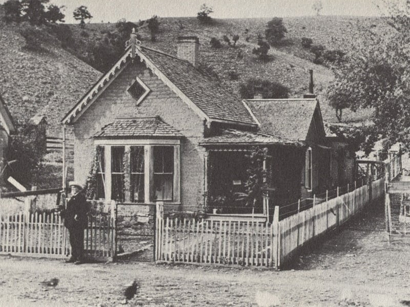 old photo Chloride NM residence