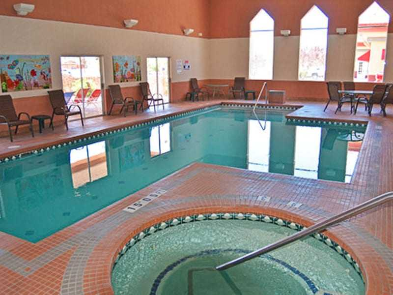 Indoor pool at Comfort Inn in Truth or Consequences NM