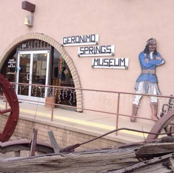 Geronimo Springs Museum entrance Truth or Consequences New Mexico