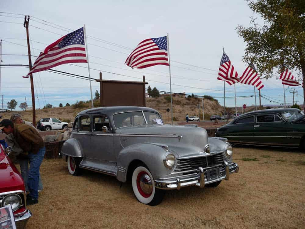 Studebaker at Veterans Day Car Show in Truth or Consequences NM