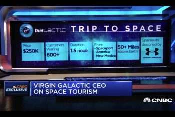 virgin galactic sees strong interest in space tourism